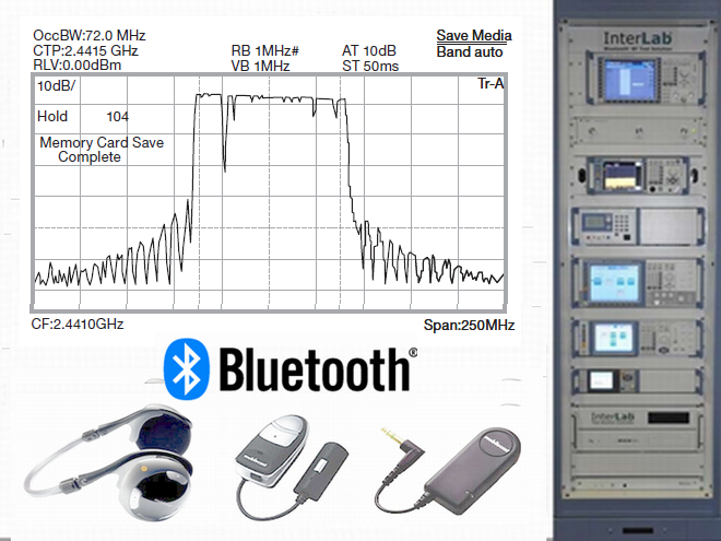 Bluetooth Devices and Test Equipment